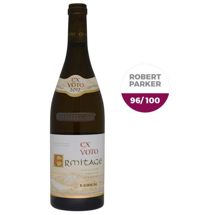 E. Guigal 2012 Ermitage Ex-Voto - Vin blanc du Rhône