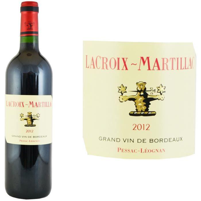 Château Lacroix Martillac 2012 Pessac - Vin rouge de Bordeaux