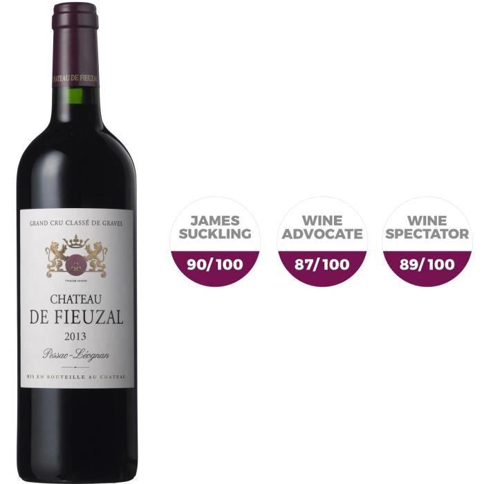 Château de Fieuzal 2013 Pessac-Léognan Grand Cru Classé - Vin rouge de Bordeaux