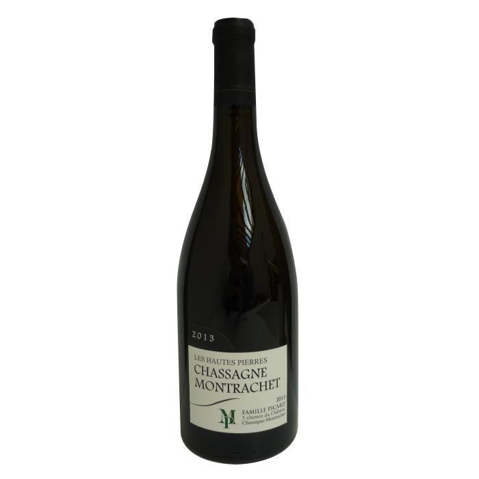 Famille Picard Les Hautes Pierres 2013 Chassagne-Montrachet - Vin rouge de Bourgogne