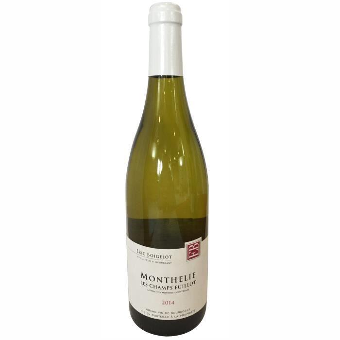 Domaine Eric Boigelot 2014 Monthelie - Vin blanc de Bourgogne