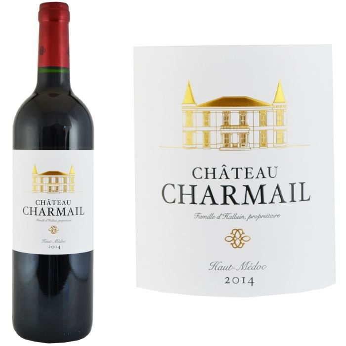 Château Charmail Haut-Médoc 2014 - Vin Rouge