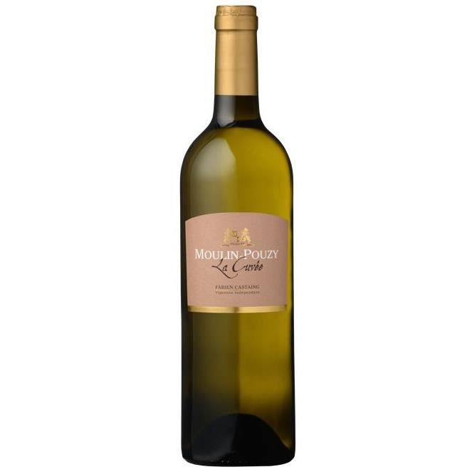 Domaine du Moulin-Pouzy La Cuvée 2012 Bergerac - Vin blanc du Sud-Ouest