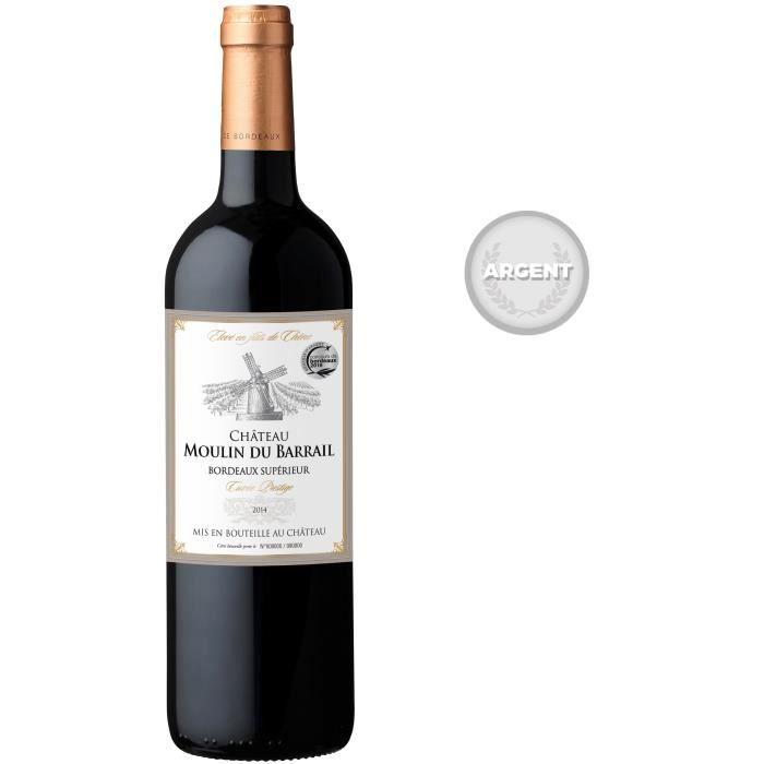 Château Moulin du Barrail Bordeaux Supérieur 2014 - Vin rouge