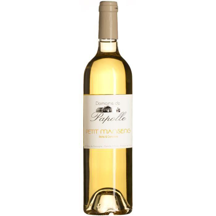 Domaine de Papolle Petit Manseng 2017 Côtes de Gascogne - Vin blanc du Sud-Ouest