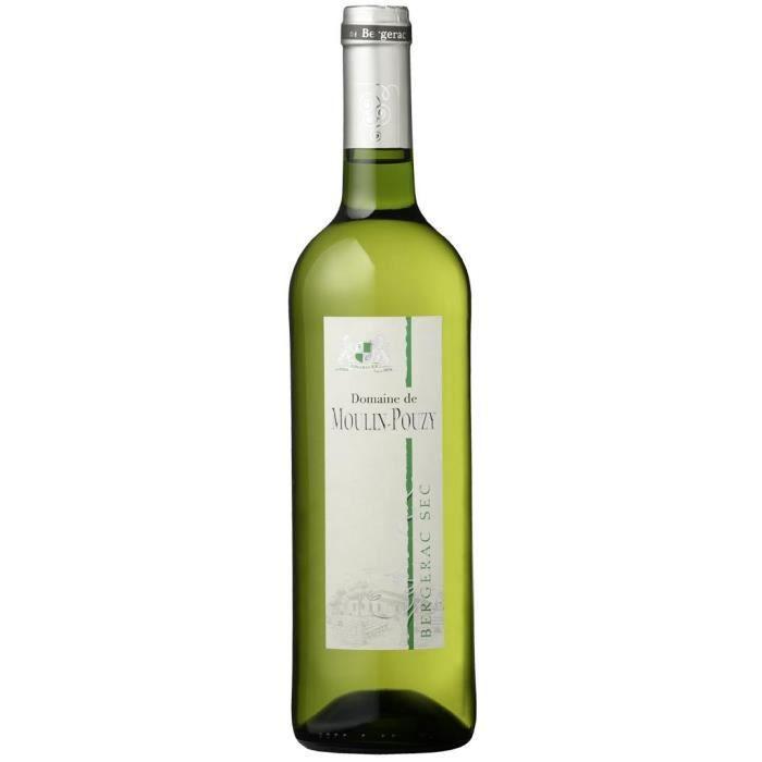 Domaine de Moulin-Pouzy Classique 2016 Bergerac - Vin blanc du Sud-Ouest