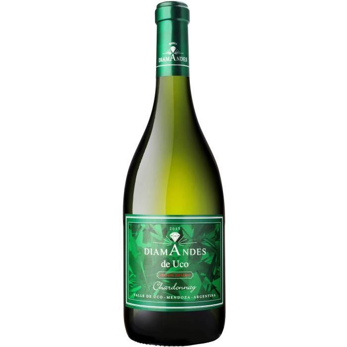 Bodega DiamAndes Grande Reserve Chardonnay Mendoza 2015 - Vin blanc