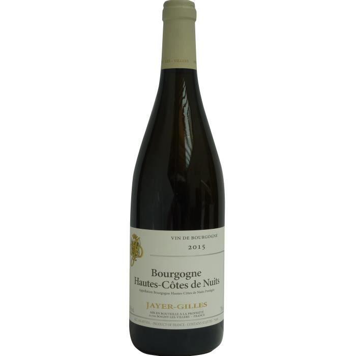 Jayer-Gilles 2015 Bourgogne Hautes-Côtes de Nuits - Vin blanc de Bourgogne