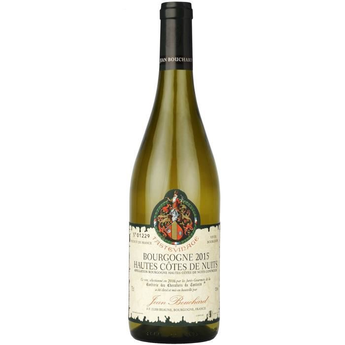 Jean Bouchard 2015 Hautes Côtes de Nuits Tasteviné - Vin blanc de Bourgogne