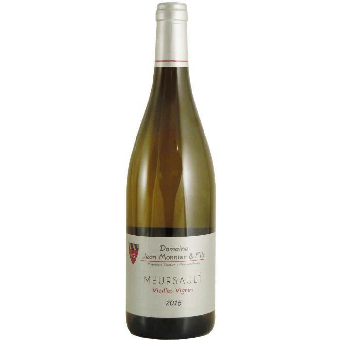 Domaine Jean Monnier et Fils 2015 Meursault Vieilles Vignes - Vin blanc de Bourgogne