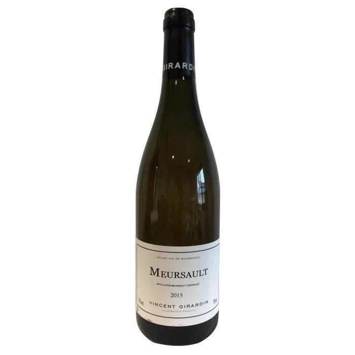 Vincent Girardin 2015 Meursault - Vin blanc de Bourgogne