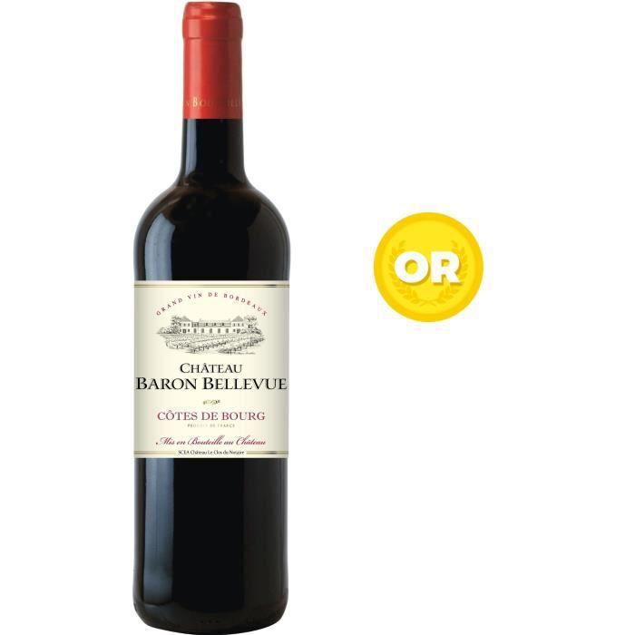 Château Baron Bellevue 2016 Côtes de Bourg - Vin rouge de Bordeaux