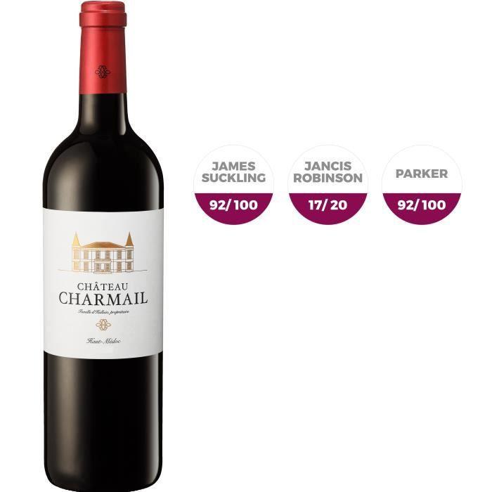 Château Charmail 2016 Haut-Médoc Vin Rouge de Bordeaux