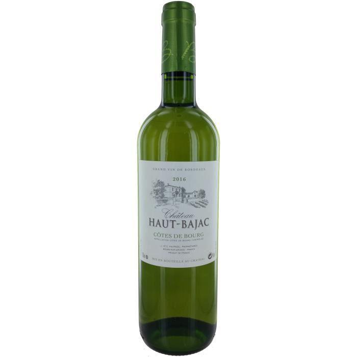 Château Haut-Bajac 2016 Côtes de Bourg - Vin blanc de Bordeaux
