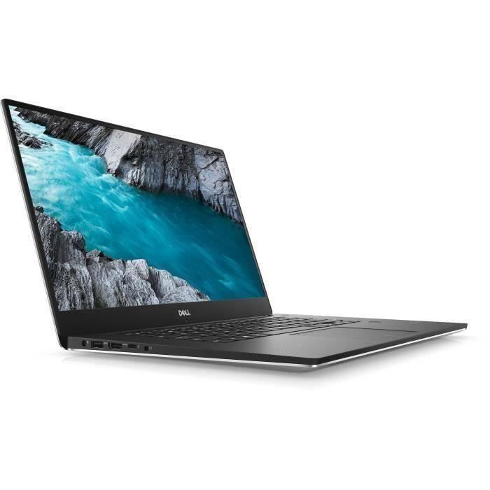 PC Portable DELL XPS 15 9570 - 15.6- FHD - Core i5-8300H - RAM 8 Go - 256 Go SSD - GeForce GTX 1050 - Windows 10 Home 64bit Clavie