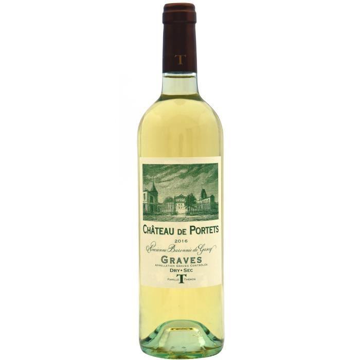 Château de Portets 2016 Graves - Vin blanc de Bordeaux
