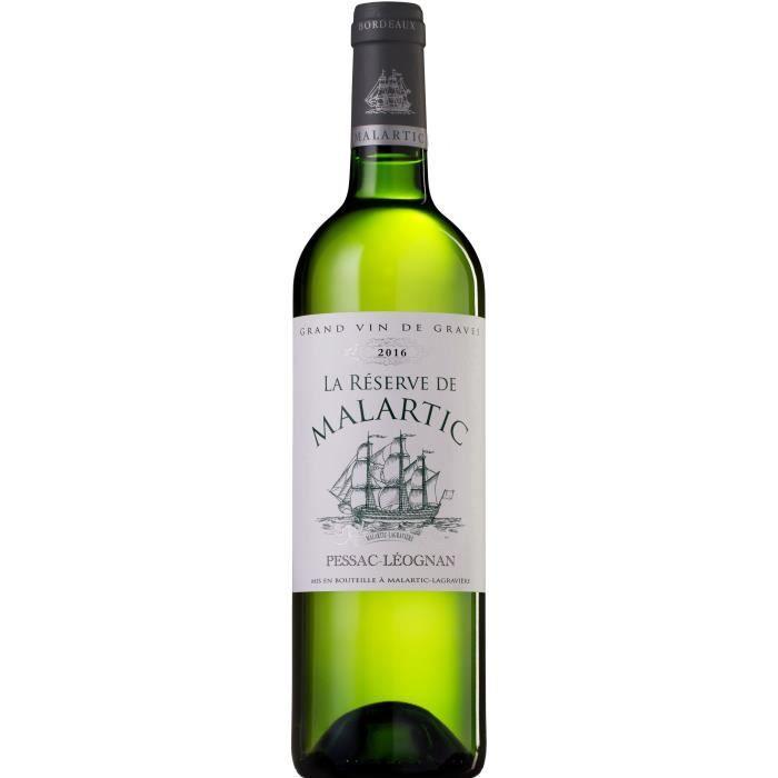 La Réserve de Malartic 2016 Pessac-Léognan - Vin blanc de Bordeaux