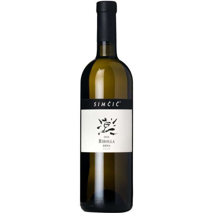 Simčič Majan 2016 Ribolla Classic - Vin blanc de Slovénie