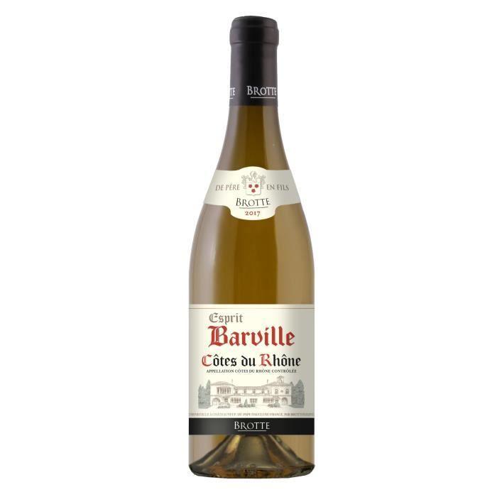 BROTTE Esprit Barville 2019 Côtes du Rhône - Vin Blanc