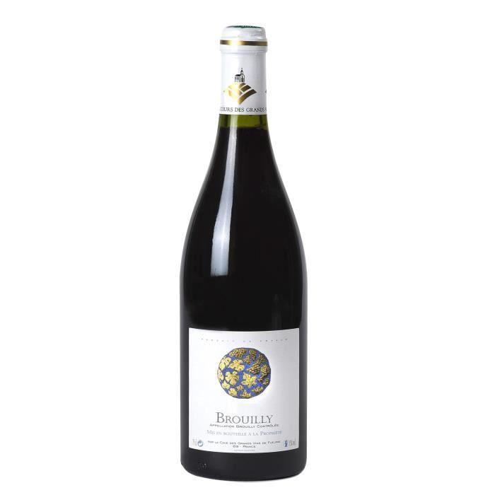 Cave de Fleurie 2017 Brouilly - Vin rouge de Bourgogne