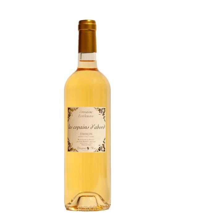 Domaine Bordenave Les Copains d'Abord 2016 Jurançon - Vin blanc moelleux du Sud-Ouest