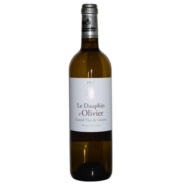 Le Dauphin d'Olivier 2017 Pessac Léognan - Vin blanc de Bordeaux