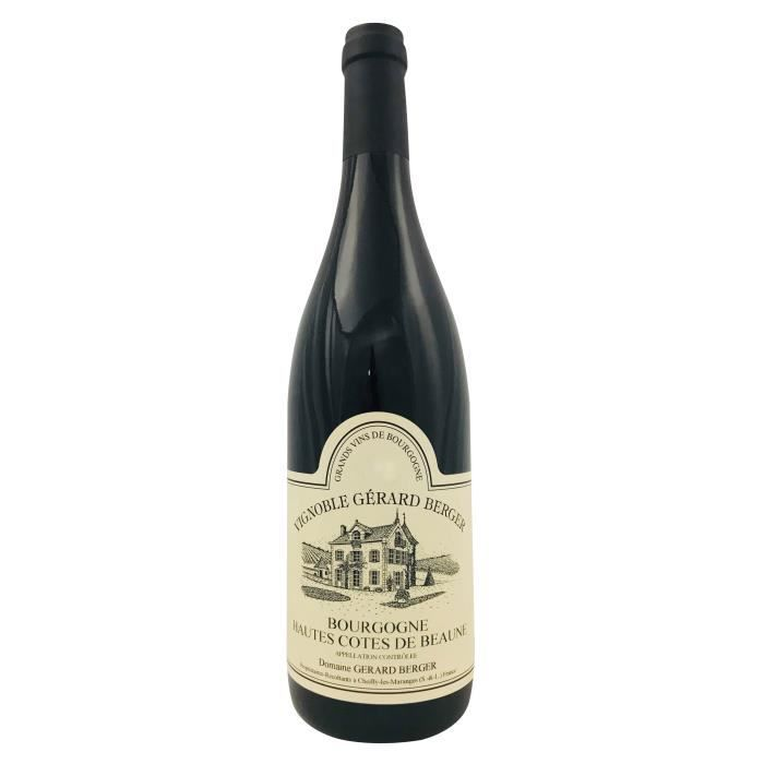 Domaine Gérard Berger 2017 Bourgogne Hautes Côtes de Beaune - Vin blanc de Bourgogne