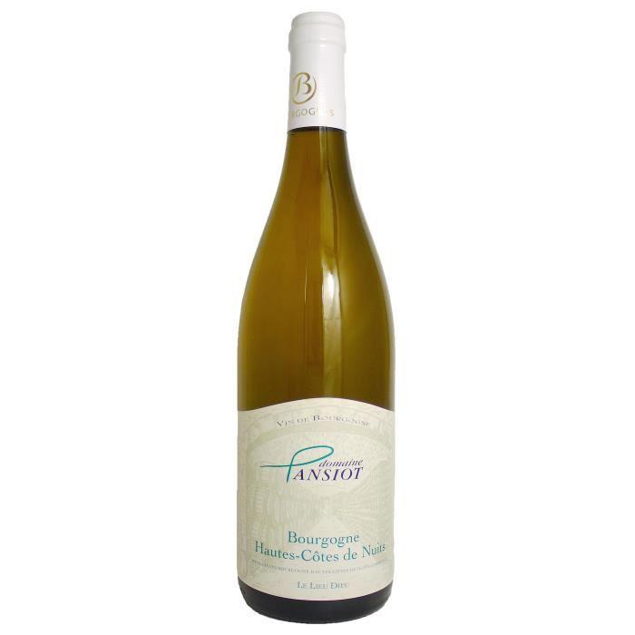 Domaine Pansiot 2017 Bourgogne Hautes-Côtes de Nuits - Vin blanc de Bourgogne