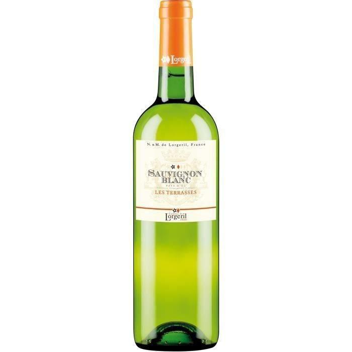 Lorgeril Les Terrasses 2017 Pays d'Oc - Vin blanc du Languedoc