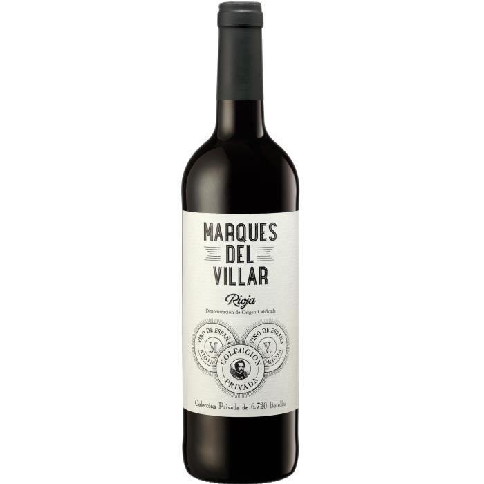 Marques Del Villar 2017 Rioja - Vin rouge d'Espagne