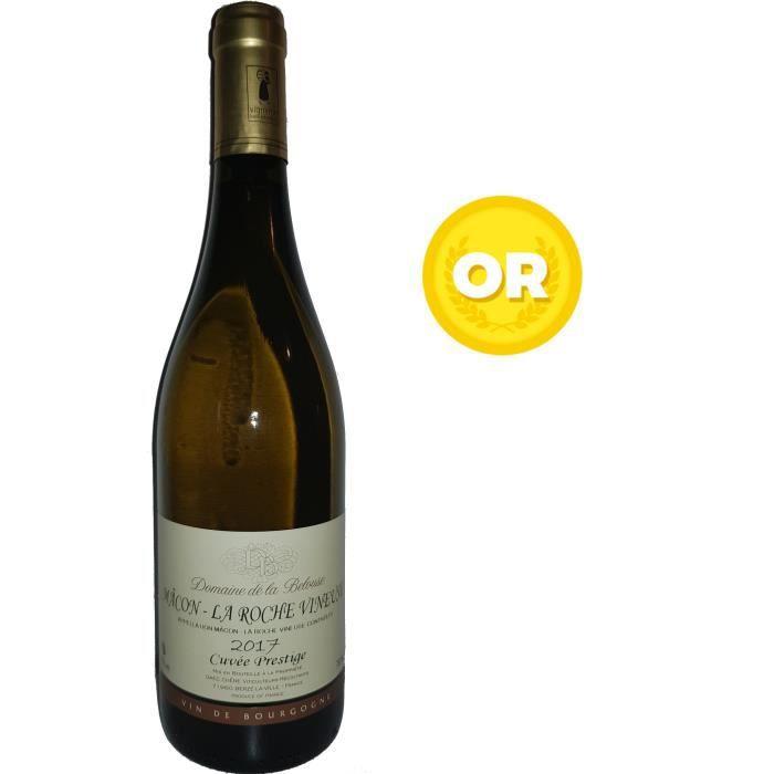 Domaine de la Belouse Cuvée Prestige 2017 Mâcon La Roche Vineuse - Vin blanc de Bourgogne
