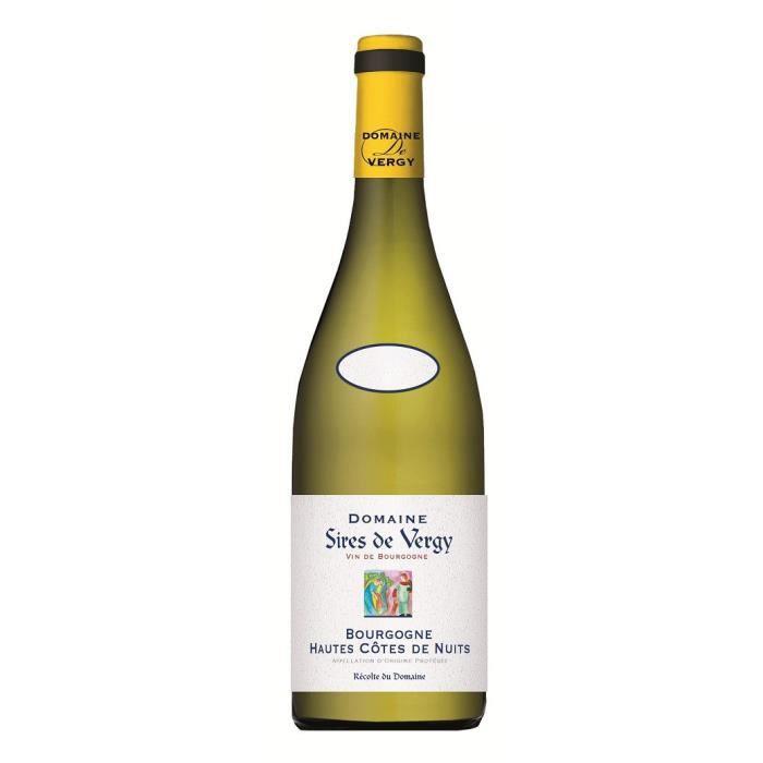 Sires de Vergy 2017 Bourgogne Hautes-Côtes-de-Nuits - Vin blanc de Bourgogne