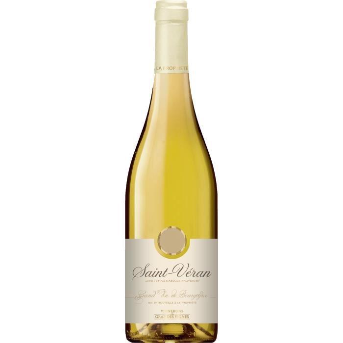 Vignerons des Grandes Vignes 2018 Saint-Véran - Vin blanc de Bourgogne