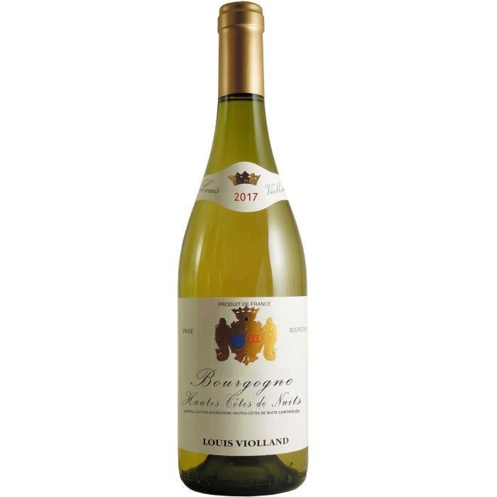 Louis Violland 2017 Hautes Cotes de Nuits - Vin blanc de Bourgogne