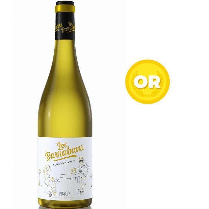 Les Barrabans 2018 Luberon - Vin blanc de la Vallée du Rhône