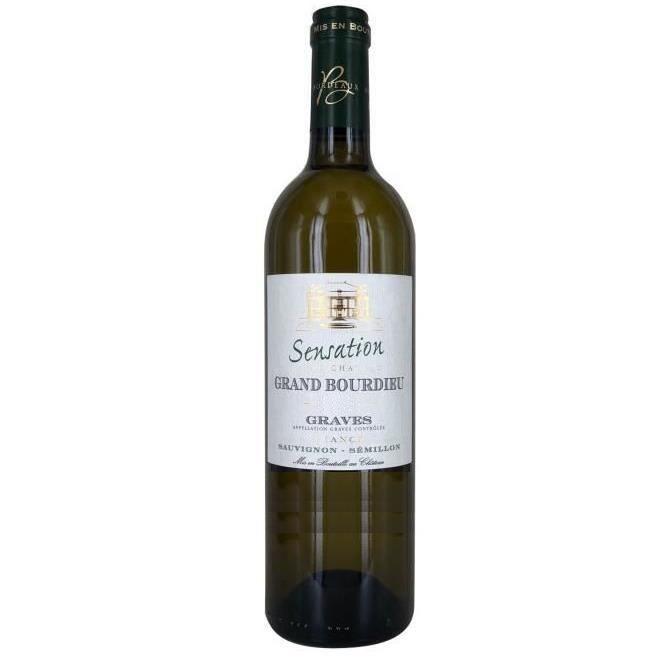 Sensation du Château Grand Bourdieu 2018 Graves - Vin blanc de Bordeaux
