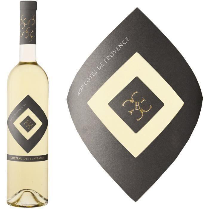 Château des Bertrands 2018 Côtes de Provence - Vin blanc de Provence