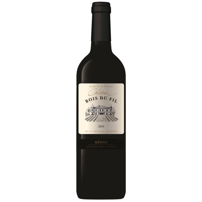 Château Bois du Fil 2018 Médoc - Vin rouge de Bordeaux