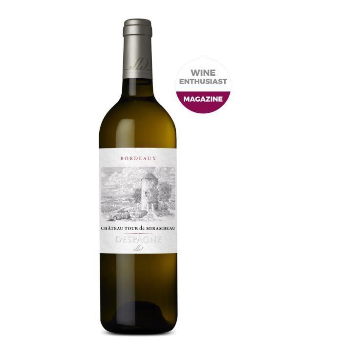 Château Tour De Mirambeau 2018 Entre-deux-Mers - Vin blanc de Bordeaux