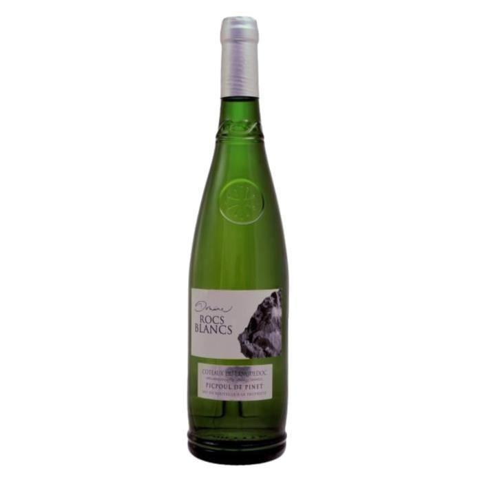 Domaine Rocs Blancs Picpoul de Pinet - Vin blanc du Languedoc