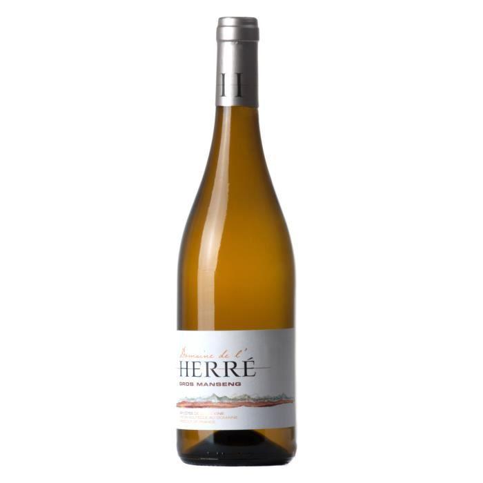 Domaine de L'Herre Gros Manseng 2019 Côtes de Gascogne - Vin blanc du Sud-Ouest