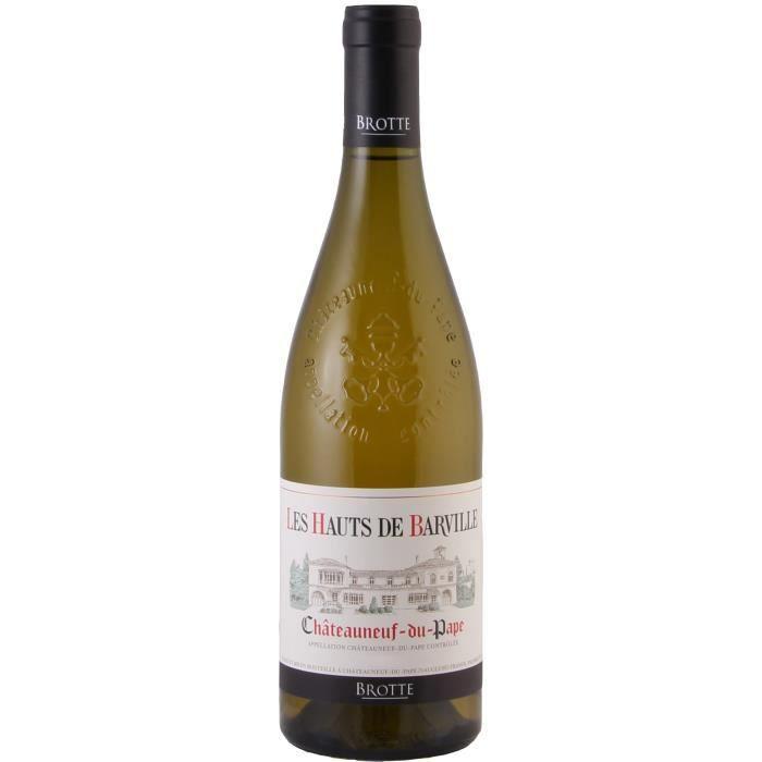 Les Hauts de Barville 2018 Châteauneuf-du-Pape - Vin blanc de la Vallée du Rhône