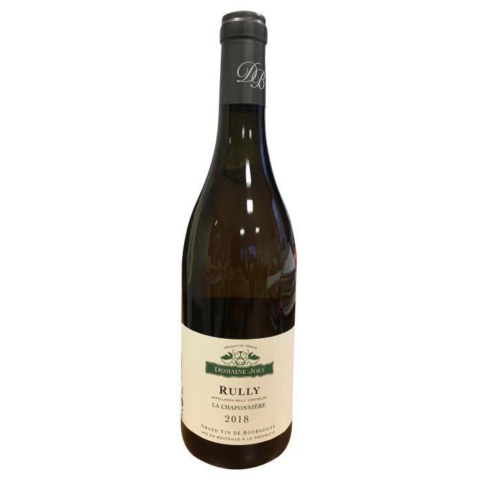 Domaine Joly 2018 Rully Chaponnières - Vin blanc de Bourgogne