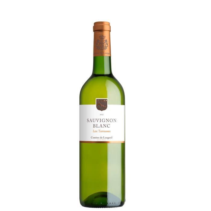 Les Terrasses 2018 IGP Pays d'Oc Sauvignon - Vin blanc du Languedoc Roussillon