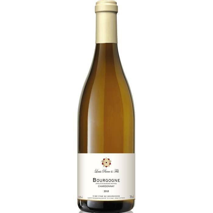 Louis Pierre & Fils 2018 Bourgogne Chardonnay - Vin blanc de Bourgogne