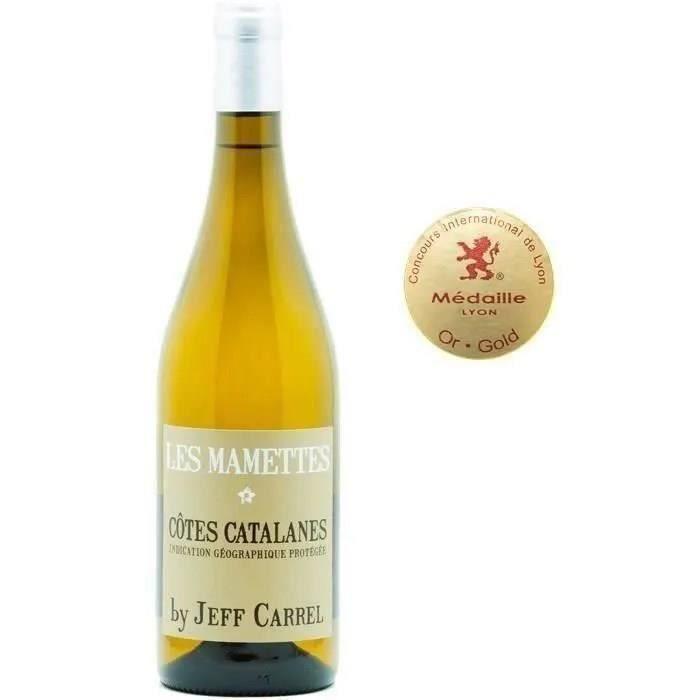Les Mamettes Côtes Catalanes - Vin blanc de Languedoc