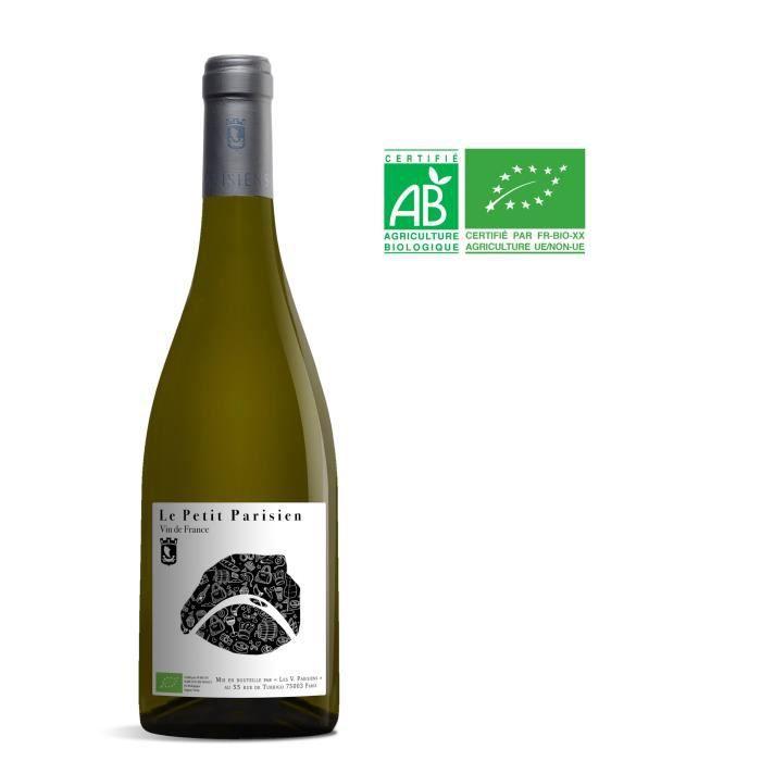 Les Vignerons Parisiens Le Petit Parisien 2018 Vin de France - Vin blanc de Paris - Bio