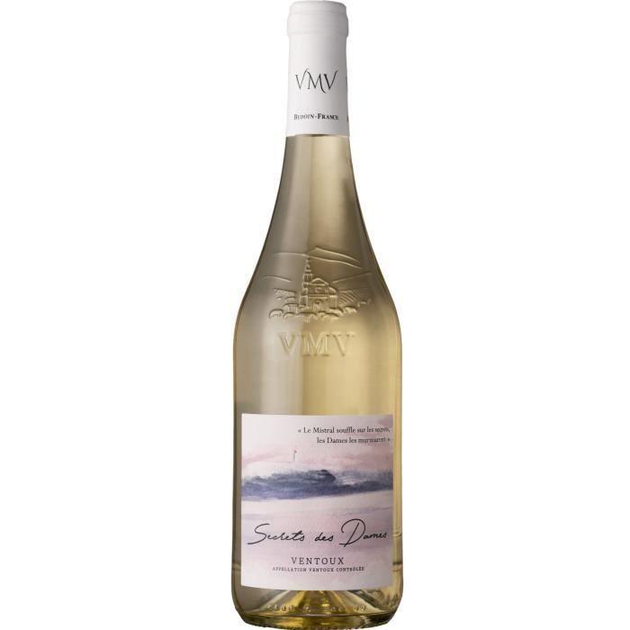 Secrets des Dames 2018 Ventoux - Vin blanc de la Vallée du Rhône