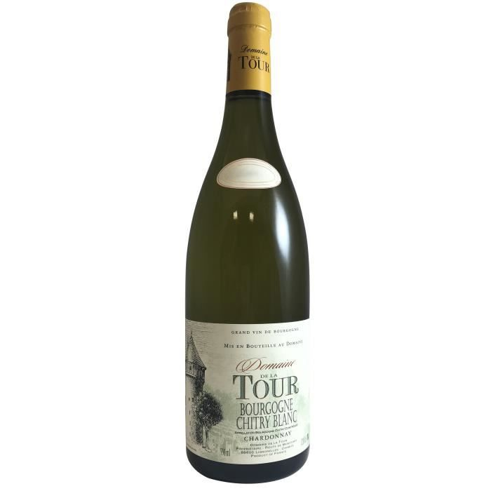 Domaine de la Tour 2018 Bourgogne Chitry - Vin blanc de Bourgogne
