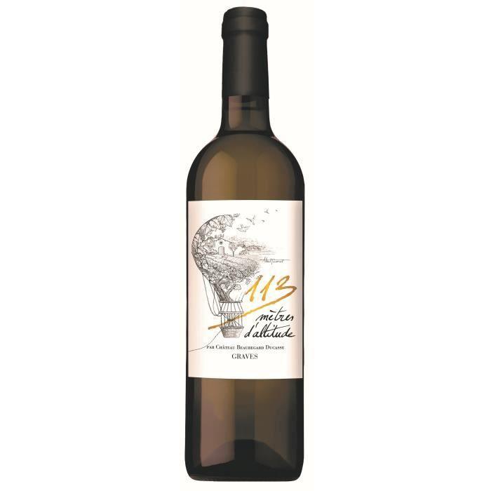 113 mètres d'altitude 2019 Graves - Vin blanc de Bordeaux